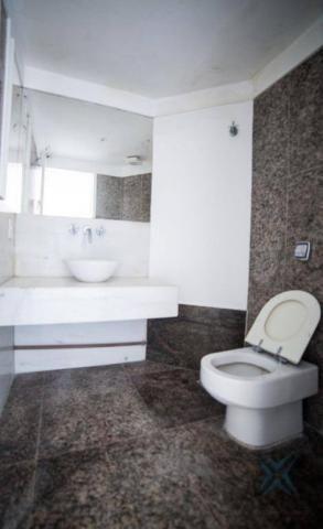 Apartamento vista mar com 4 dormitórios à venda, 352 m² por r$ 650.000 - antônio diogo - f - Foto 11
