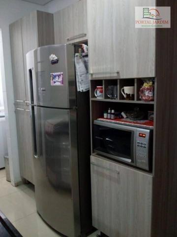 Apartamento com 2 dormitórios para alugar, 50 m² por r$ 1.300/mês - vila alto de santo and - Foto 5