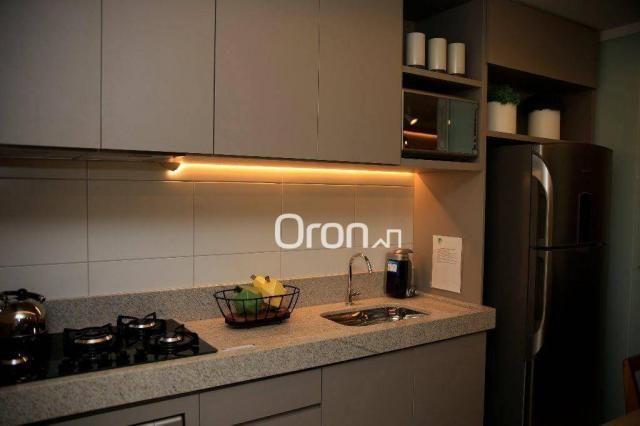 Apartamento com 2 dormitórios à venda, 73 m² por R$ 293.000,00 - Jardim Atlântico - Goiâni - Foto 6