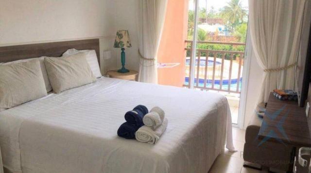 Apartamento wellness beach park resort , com 4 dormitórios à venda, 135 m² por R$ 950.000  - Foto 8