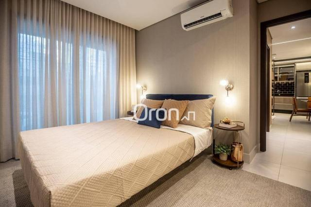Loft com 1 dormitório à venda, 63 m² por r$ 352.340,00 - setor bueno - goiânia/go - Foto 16