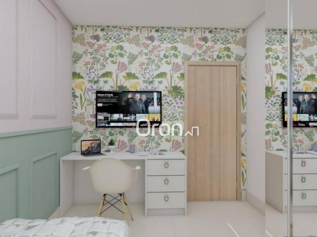 Cobertura com 4 dormitórios à venda, 318 m² por R$ 1.271.000,00 - Setor Bueno - Goiânia/GO - Foto 20