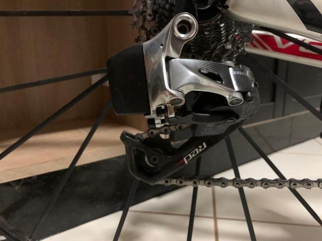 Specialized venge s-works sram red etap 22v eletrônico bike bicicleta aero carbono - Foto 3