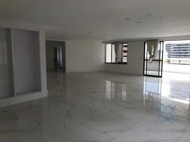 Apartamento com 4 dormitórios à venda, 357 m² por r$ 2.680.000,00 - meireles - fortaleza/c - Foto 4