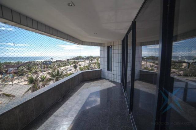 Apartamento vista mar com 4 dormitórios à venda, 352 m² por r$ 650.000 - antônio diogo - f - Foto 13