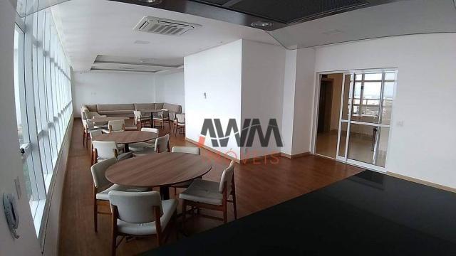 Apartamento com 1 dormitório para alugar, 42 m² por R$ 2.000,00/mês - Setor Oeste - Goiâni - Foto 14