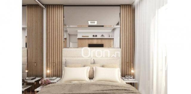 Apartamento com 2 dormitórios à venda, 56 m² por R$ 198.000,00 - Condomínio Santa Rita - G - Foto 9