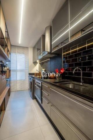 Loft com 1 dormitório à venda, 63 m² por r$ 352.340,00 - setor bueno - goiânia/go - Foto 13