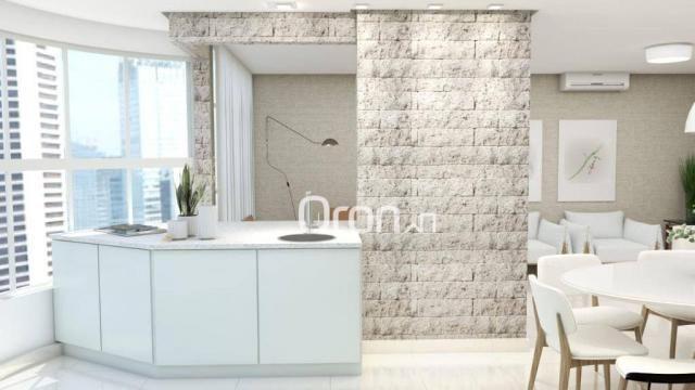 Cobertura com 4 dormitórios à venda, 318 m² por R$ 1.271.000,00 - Setor Bueno - Goiânia/GO - Foto 5