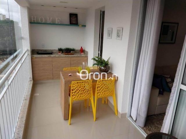 Apartamento com 3 dormitórios à venda, 94 m² por r$ 380.000,00 - parque amazônia - goiânia - Foto 12