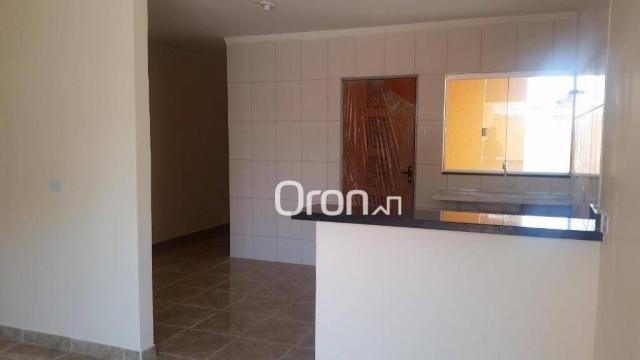 Casa com 2 dormitórios à venda, 70 m² por r$ 135.000,00 - setor cora coralina - goianira/g - Foto 4