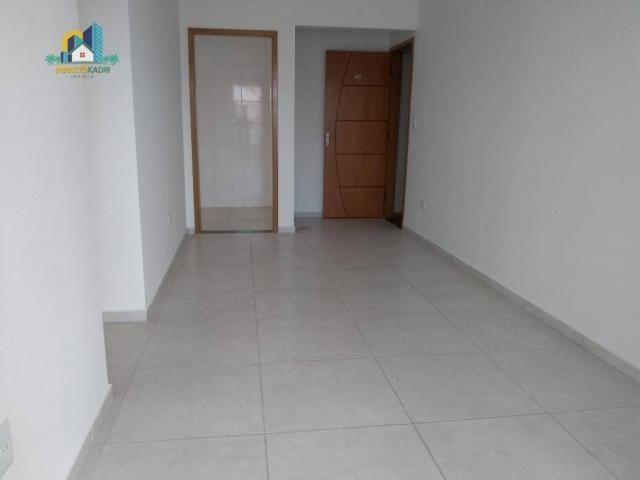 Apartamento residencial para locação, Vila Guilhermina, Praia Grande. - Foto 14
