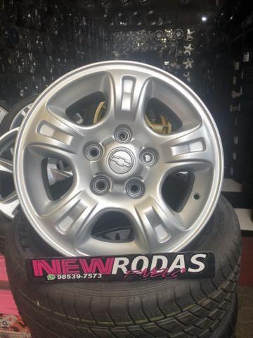 Rodas ChevroletAro 15 S10 e Blazer 5Furo - Foto 3