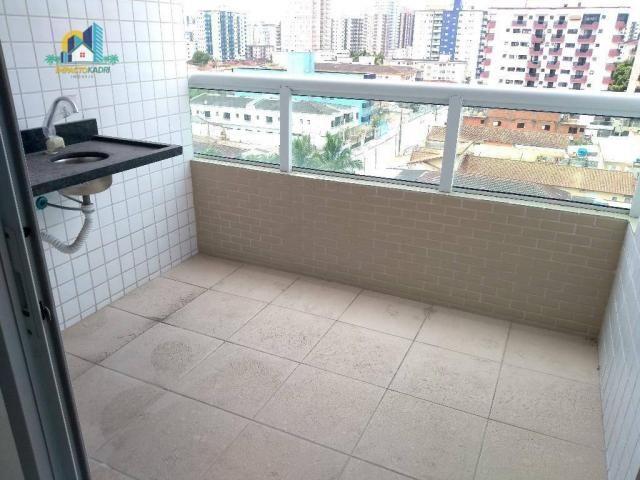 Apartamento residencial para locação, Vila Guilhermina, Praia Grande. - Foto 12