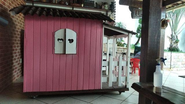 Casinha madeira para crianças - Foto 4