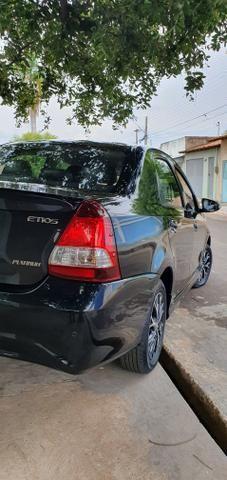 Etios 1.5 platinum automático 17/18 sedan - Foto 8