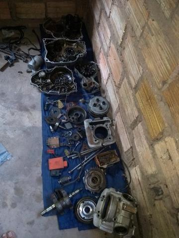 Vendo peças do motor da fazer ou Lander 2011 - Foto 6