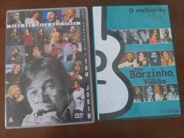 DVD Tom Jobim e O melhor de Um barzinho e um violão