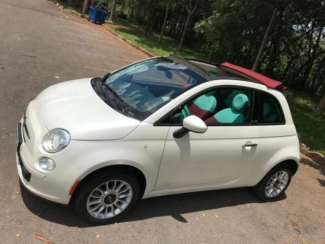 Fiat 500 cabriolet 2014 ( conversível ) automático completo muito novo confira!!!! - Foto 11