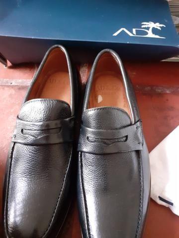 Sapato social masculino Tam. 42 preto - Foto 6
