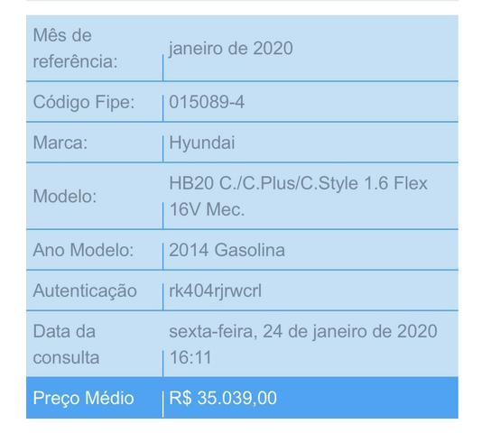 Vende-se HB20 1.6 Comfort Plus 2014/2014 - Foto 3