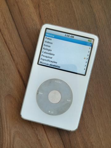 Ipod Classic 30gb Branco Apple