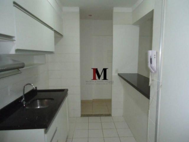 Alugamos apartamento com 3 quartos climatizado e armario de cozinha - Foto 18