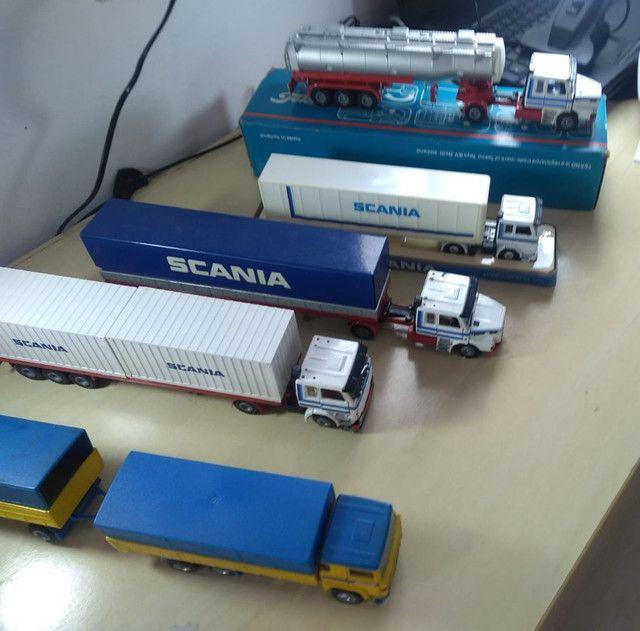 Caminhões miniatura scania  - Foto 2