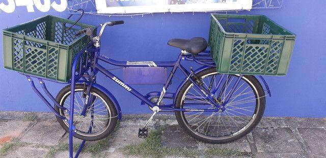 800reais Bicicleta cangueira pra vende 4 messes de uso com nota fical