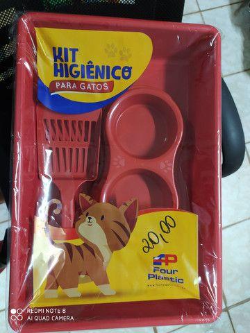 Kit higiênico para gato - Foto 3