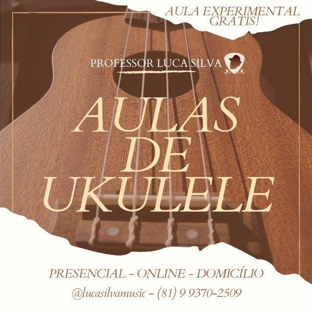 Aulas de Ukulele Online (Aula experimental grátis)