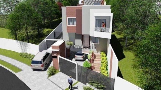 Sobrado com terraço em Condomínio, 3 quartos, 2 vagas - Foto 9
