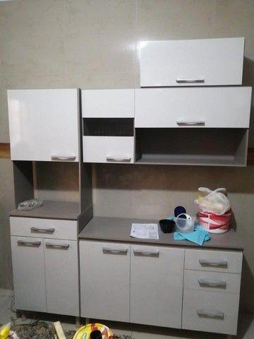 Armário para Cozinha Completo / Cozinha Compacta Com Balcão  - Foto 2
