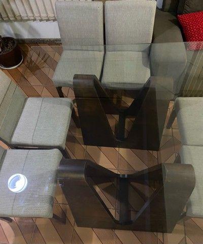 Mesa quadrada 6 lugares - Foto 3