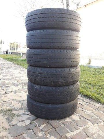 Barbada   6 pneus  205/75/16