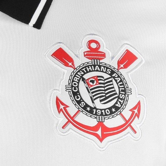 Camisa Corinthians I 20/21 s/n° Torcedor Nike Masculina - Foto 2