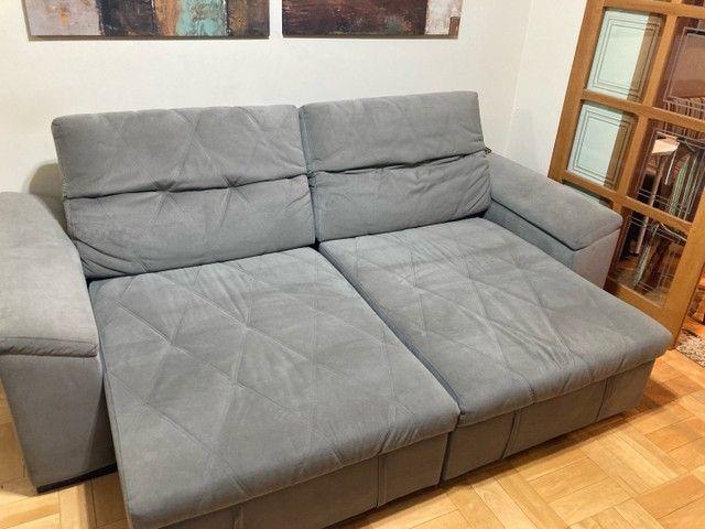 Sofá alto padrão - retrátil 2,5m