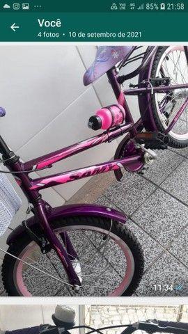 Bicicleta ceci infantil aro 20,dá pra uma criança até 08 anos - Foto 2