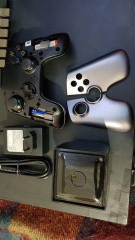 Console OUYA com controle e cartão de memória de 16gb - Foto 3
