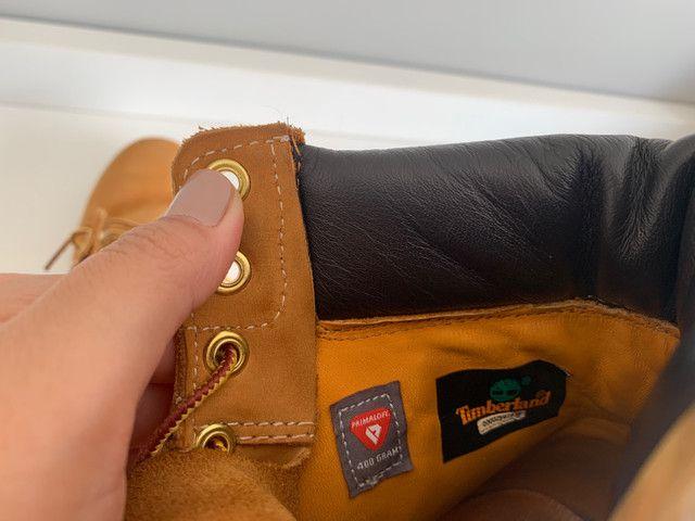 Bota Timberland - Yellow Boots - a prova d?água n39 - Foto 5