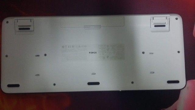 Combo teclado e mouse sem fio logitech (Muito pouco usado) - Foto 4