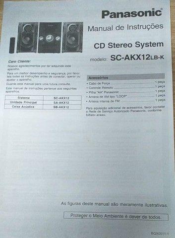 Mini system panasonic sc akx12lb k - Foto 5