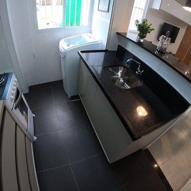 Apartamentos 2 quartos 42m com elevador no planalto | Vista das copaibas - Foto 7