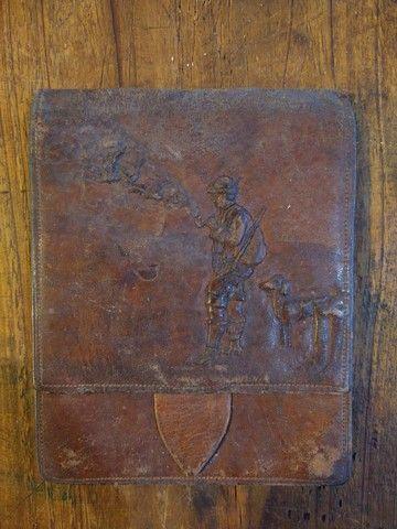 Carteira original década de 40 Bavária