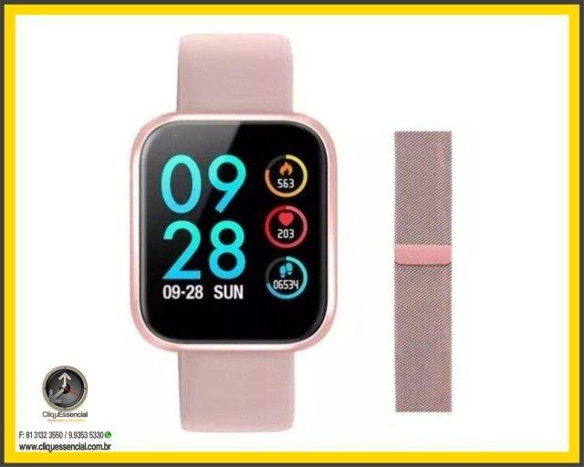 Relógio Inteligente SmartWatch P70 Android e Ios - Foto 6