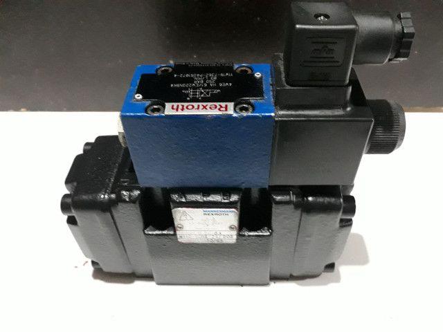 Válvula Direcional Rexroth +Bloco monofodio para Máquinas e Equipamentos hidráulicos  - Foto 2