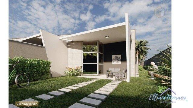 Casa com 3 dormitórios à venda, 103 m² por R$ 295.000,00 - Timbu - Eusébio/CE