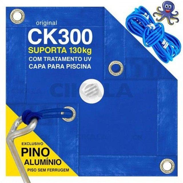 Vendo Capa de Piscina 5X3 para Sujeira CK300 pead com kit de Instalação em Alumínio - Foto 3