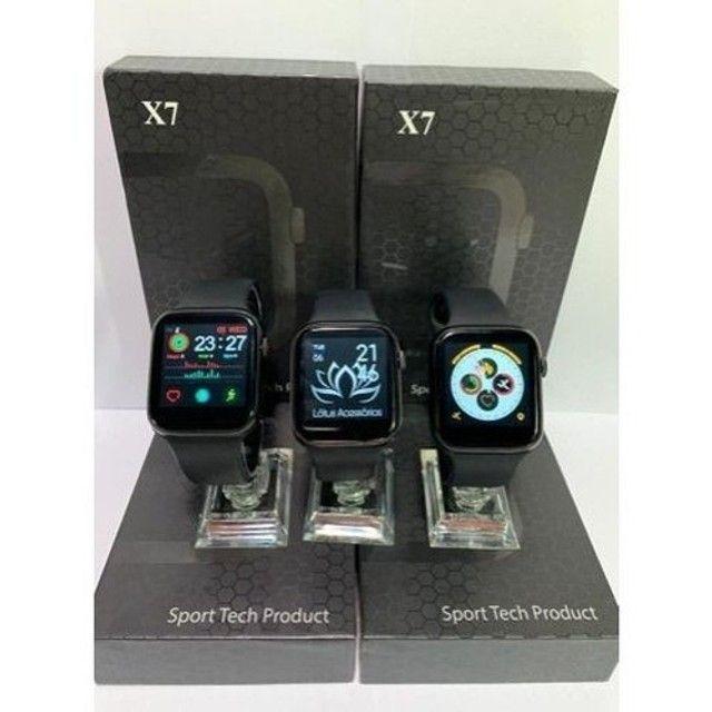Smartwatch IWO X7 - Faz Ligação - Entrega Grátis - Foto 3