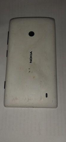 Vendo Smarthone, celular Nokia Lumia 520 seminovo. - Foto 4